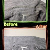 メンズ ジャケット 広範囲 の 黄ばみ 変色 by 下町、東京都江東区亀戸の会員制クリーニングベレーナ