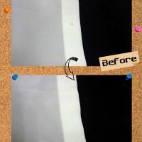 ストラスブルゴ STRASBURGO レディース シルク シャツ についた 食べこぼし のしみ by 下町、東京都江東区亀戸の会員制クリーニングベレーナ