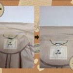 エフデ ef-de レディース ジャケット 襟 エリ の 黄ばみ