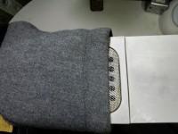 レディース コート についた 食べこぼし の しみ by 下町、東京都江東区亀戸の会員制クリーニングベレーナ