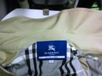 バーバリー(Burberry) コート 襟(エリ)の黄ばみby 会員制クリーニング ベレーナ