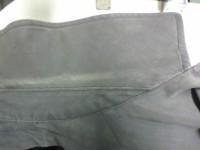 コートの襟(エリ) 黄ばみと脱色 by 下町、江東区亀戸 会員制クリーニング ベレーナ