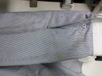 Yシャツ ワイシャツ 食べこぼしのしみ by 下町、江東区亀戸 会員制クリーニング ベレーナ