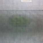 ワイシャツ 食べこぼし の しみ