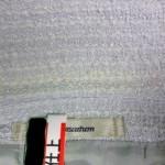 アクアスキュータム Aquascutum レディース ジャケット 襟 エリ の 黄ばみ