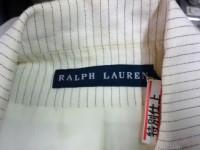 Ralph Lauren ラルフ ローレン の レディース ジャケット についた 古いしみ by 下町 江東区 亀戸 会員制クリーニング ベレーナ