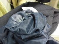 メンズ ジャケット インク の爆発 by 下町 江東区亀戸 会員制クリーニング ベレーナ