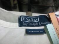 ポロ ラルフローレン Polo Ralph Lauren メンズ ポロシャツ についた 血液 のしみ by 下町 江東区 亀戸 会員制クリーニング ベレーナ