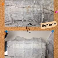 エポカ EPOCA レディース ジャケットについた 食べこぼし のしみ by 下町、東京都江東区亀戸の会員制クリーニングベレーナ
