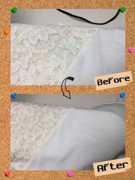 レディース ブラウス カットソー 家庭洗濯での色移り by 下町、東京都江東区亀戸の会員制クリーニングベレーナ