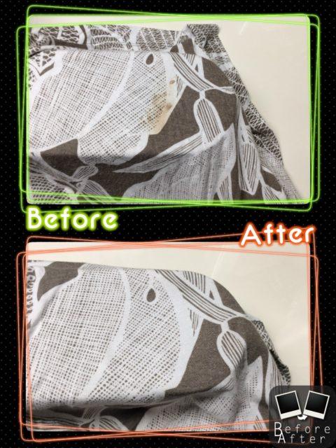 レディース スカート 血液 のしみ by 下町、東京都江東区亀戸の会員制クリーニングベレーナ