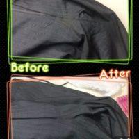 メンズ パンツ ズボン 股下 の 黄ばみ by 下町、東京都江東区亀戸の会員制クリーニングベレーナ