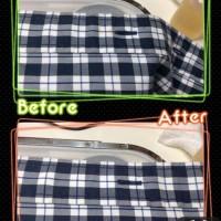 メンズ シャツ についた 食べこぼし の しみ抜き by 下町、東京都江東区亀戸の会員制クリーニングベレーナ