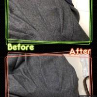 レディース ワンピース 食べこぼし の しみ抜き by 下町、東京都江東区亀戸の会員制クリーニングベレーナ