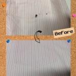 ワイシャツ  ボールペン インク のしみ